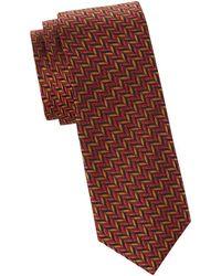 Missoni - Herringbone Silk Tie - Lyst