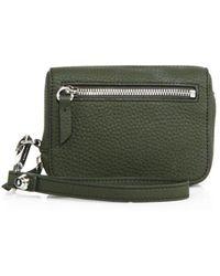 Alexander Wang - Fumo Large Leather Wristlet Wallet - Lyst