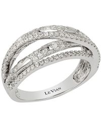 Le Vian - Diamond And 14k White Gold Ring - Lyst