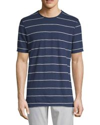 Threads For Thought - Kane Striped Cotton Tee - Lyst