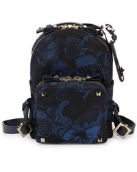 Valentino - Butterfly Zip Backpack - Lyst