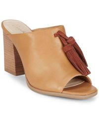 Seychelles - Tassel Leather Mules - Lyst