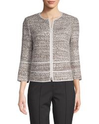 Lafayette 148 New York - Aisha Tweed Jacket - Lyst