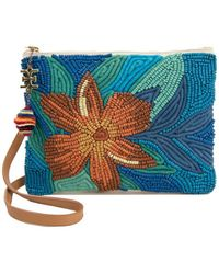 Sam Edelman - Anette Embellished Canvas Pouch - Lyst