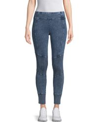 Marc New York - Denim Ankle Leggings - Lyst