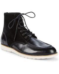 Original Penguin - Ned Leather Loafer Ankle Boots - Lyst