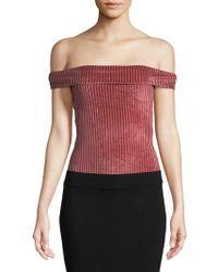 MINKPINK - Off-the-shoulder Bodysuit - Lyst