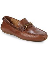 Cole Haan - Leather Buckle Loafers - Lyst