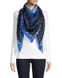 Missoni - Triangular Printed Silk Scarf - Lyst