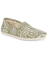 TOMS - Olivine Patterned Slip-on Trainers - Lyst