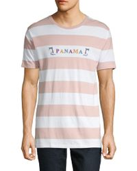 Barney Cools - Striped Cotton Tee - Lyst