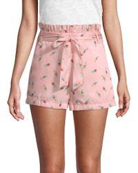 English Factory - Pineapple Daze Printed Shorts - Lyst
