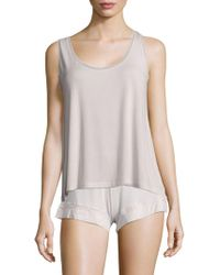 Addiction Nouvelle Lingerie - Sleeveless Trapeze Top - Lyst