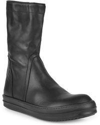 Rick Owens - Classic Leather Boots - Lyst