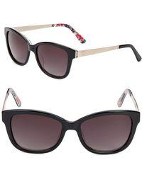 O By Oscar De La Renta - 52mm Square Sunglasses - Lyst