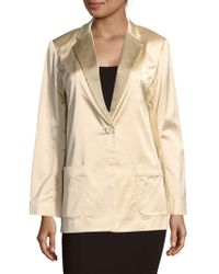 Marc By Marc Jacobs - Washed Satin Jacket - Lyst