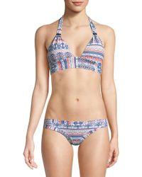 OndadeMar - Halter Bikini Top - Lyst