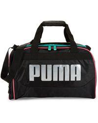 PUMA - Logo Duffel Bag - Lyst