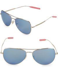 Paul Smith - Davison 58mm Aviator Sunglasses - Lyst
