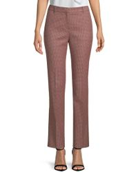 BOSS - Akunda Graphic Straight Trousers - Lyst
