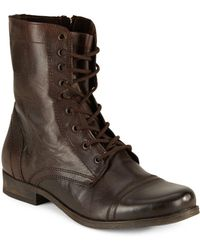Steve Madden - Lace-up Combat Boots - Lyst
