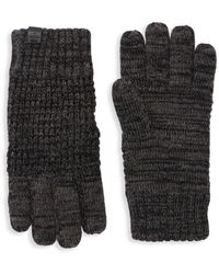 Bickley + Mitchell - Textured Twist Gloves - Lyst