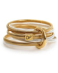 Diane von Furstenberg - Grand Prix Snake Bangle Set - Lyst