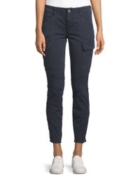 J Brand - Mid-rise Houlihan Cargo Pants - Lyst