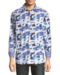 Robert Graham - Chanute Print Cotton Shirt - Lyst