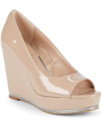 BCBGeneration - Jaz Slip-on Wedge Sandals - Lyst