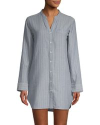UGG - Vivian Stripe Cotton Sleepshirt - Lyst