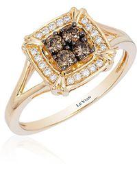 Le Vian - Chocolatier® Honey Gold® Framed Cluster Ring - Lyst