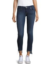 True Religion - Stella Low Rise Skinny Jeans - Lyst