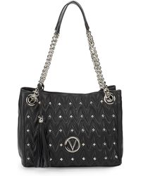 Valentino By Mario Valentino - Luisa Studded Chain Shoulder Bag - Lyst