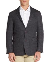 Vince Camuto - Seamed Wool-blend Sportcoat - Lyst