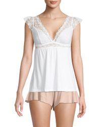 b199b2a671c Flora Nikrooz Tulla Bride Shirt in White - Lyst