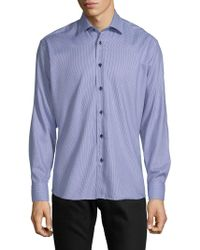 Bertigo - Gaston Cotton Button-down Shirt - Lyst