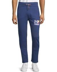 Tommy Hilfiger - Logo Retro Knit Trousers - Lyst