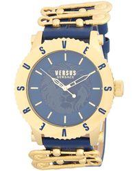 Versus - Stainless Steel Japanese Quartz Strap Watch - Lyst