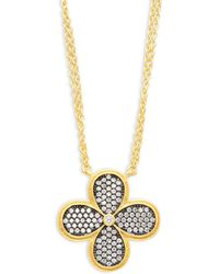 Freida Rothman - Floral Pendant Necklace - Lyst