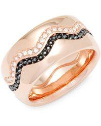 Swarovski - Crystal Band Ring - Lyst