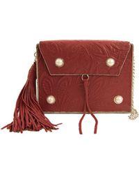Sam Edelman - Gianna Iron Boxed Mini Bag - Lyst