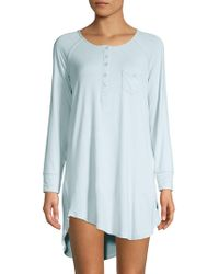 959d845978 Juicy Couture - High-low Metallic Sleep Dress - Lyst