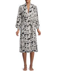 Natori - Printed Robe - Lyst