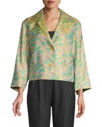 Dries Van Noten - Multicolored Printed Jacket - Lyst