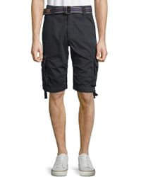 Affliction   Casual Cotton Cargo Shorts   Lyst