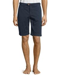 Psycho Bunny - Classic-fit Cotton Shorts - Lyst