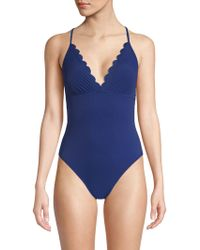 La Blanca - Petal One-piece Swimsuit - Lyst