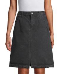 J Brand - Carolina Super High-rise Cotton Skirt - Lyst