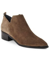 Marc Fisher - Textured Leather Chelsea Boots - Lyst